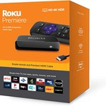 Image for the Tweet beginning: Roku Premiere 4K/HDR Streaming Media