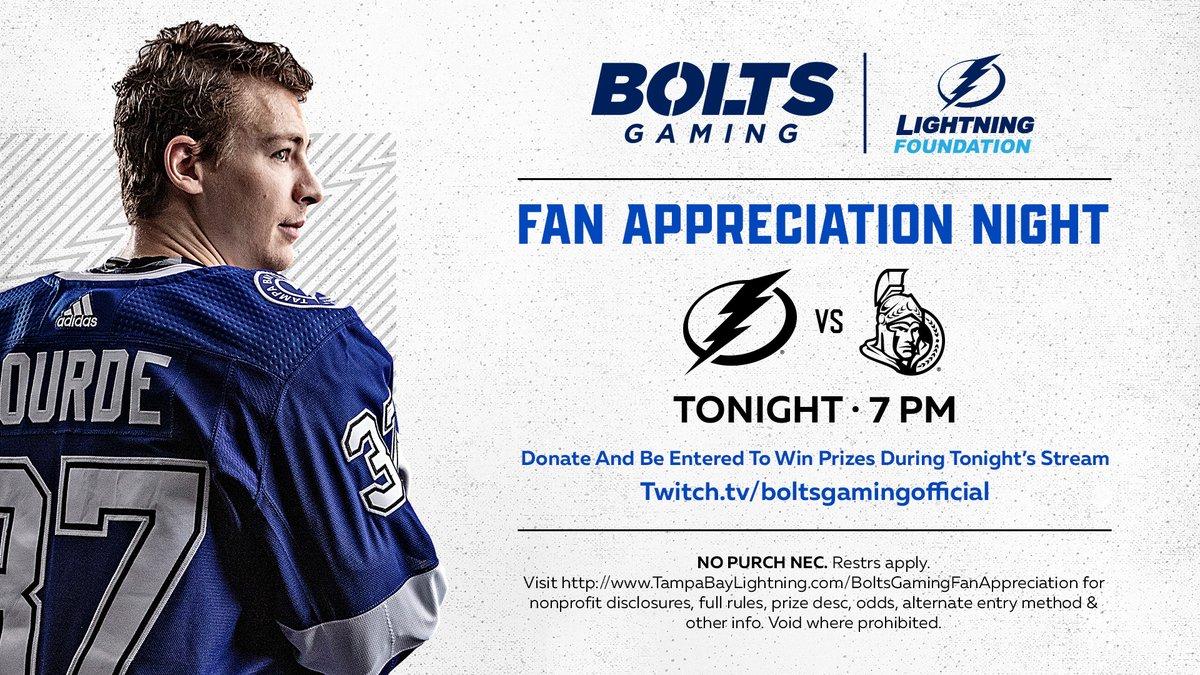 Tampa Bay Lightning @TBLightning