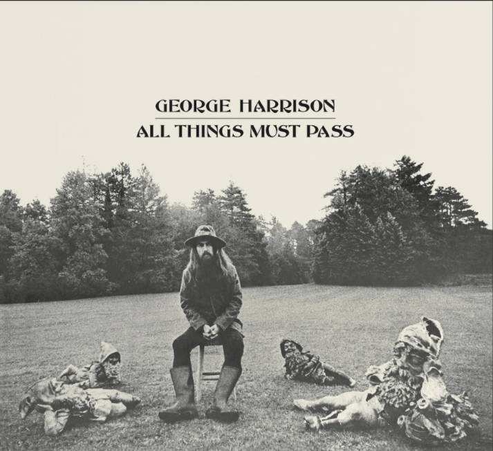 Three LPs of goodness. George Harrison's All Things Must Pass. Quite apropos today don't you think. What vinyl do you have on your turntable today? #vinyl #vinylrecords #georgeharrison #allthingsmustpasspic.twitter.com/FjLBiWBzqS
