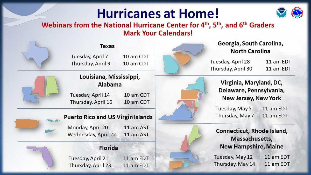 What a great resource and opportunity for students from <a target='_blank' href='http://twitter.com/NOAA'>@NOAA</a> and the <a target='_blank' href='http://twitter.com/NHC_Atlantic'>@NHC_Atlantic</a>.  Don't miss out <a target='_blank' href='http://twitter.com/APSVirginia'>@APSVirginia</a>! <a target='_blank' href='https://t.co/oQTeam8aMv'>https://t.co/oQTeam8aMv</a>