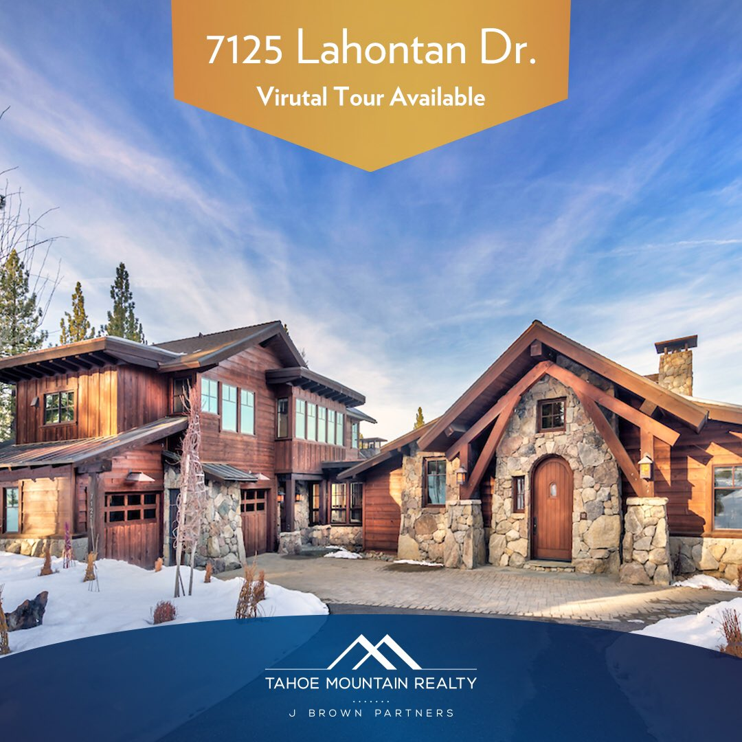 7125 Lahontan Dr.   4 bed, 4.5 bath. Price and 3D Tour available for viewing here: bit.ly/35SjgGy