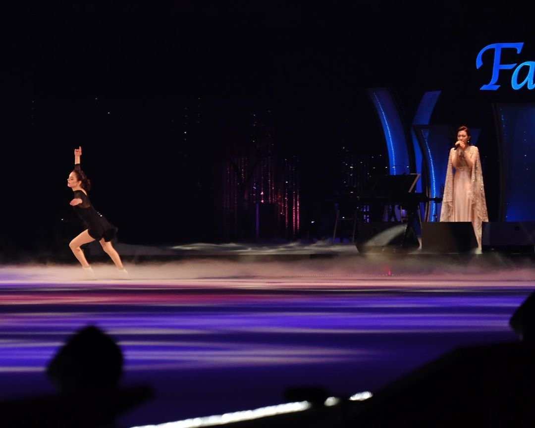 Throwback #EvgeniaMedvedeva at FAOI2019 pic.twitter.com/paeegcP47Y