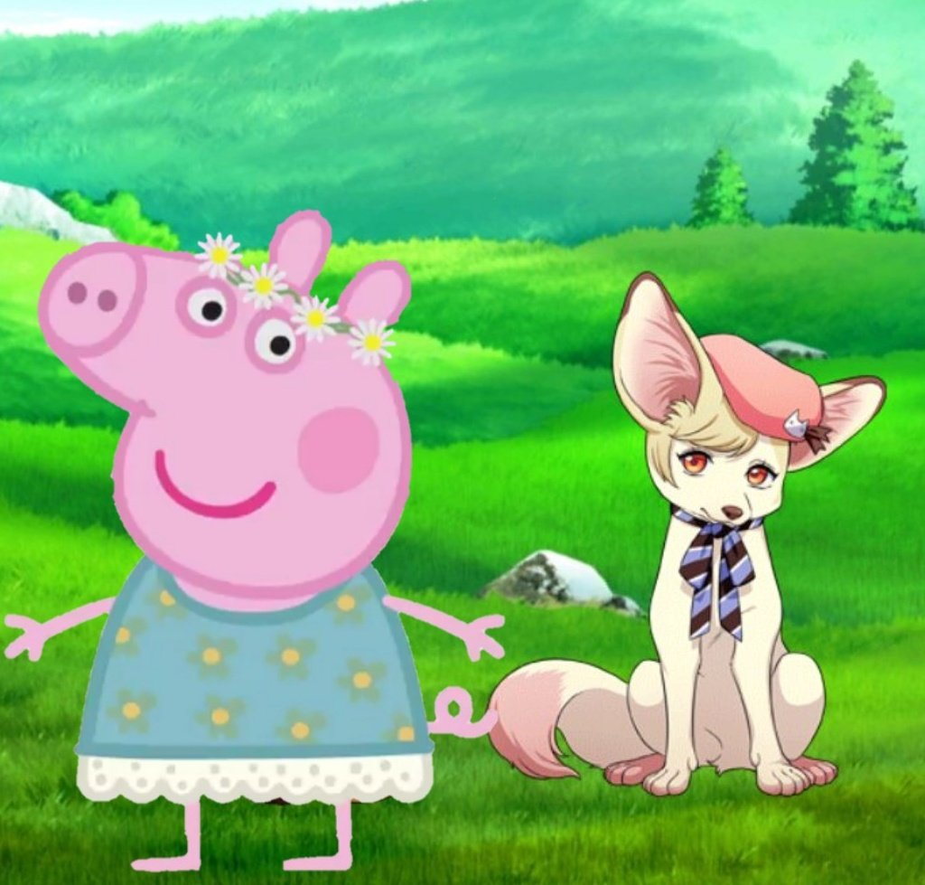 Ready for next year's Fashion Week! Got fashion tips from Veludo Farm's most stylish animal, Yuki! Yuki also made a flower crown out of the flowers Tsumugi and I collected this morning! How do I look? #A7xPeppaPigpic.twitter.com/3UsVrDqzBq