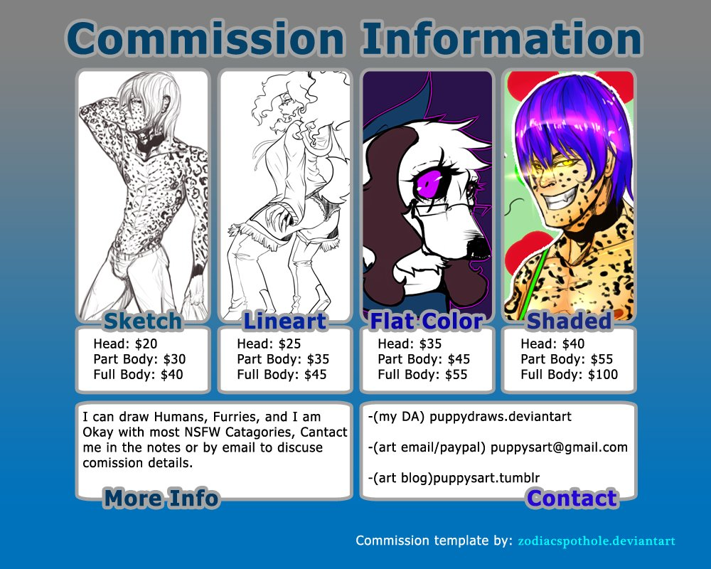 Hey everyone! I'm actually opening up For Commissions!, you can dm me for more information on getting work by me. some slots are limited but I have 10 slots available. look forward to working with y'all! #artistsontwitter #openforcommissionspic.twitter.com/PXg1i3YfZS