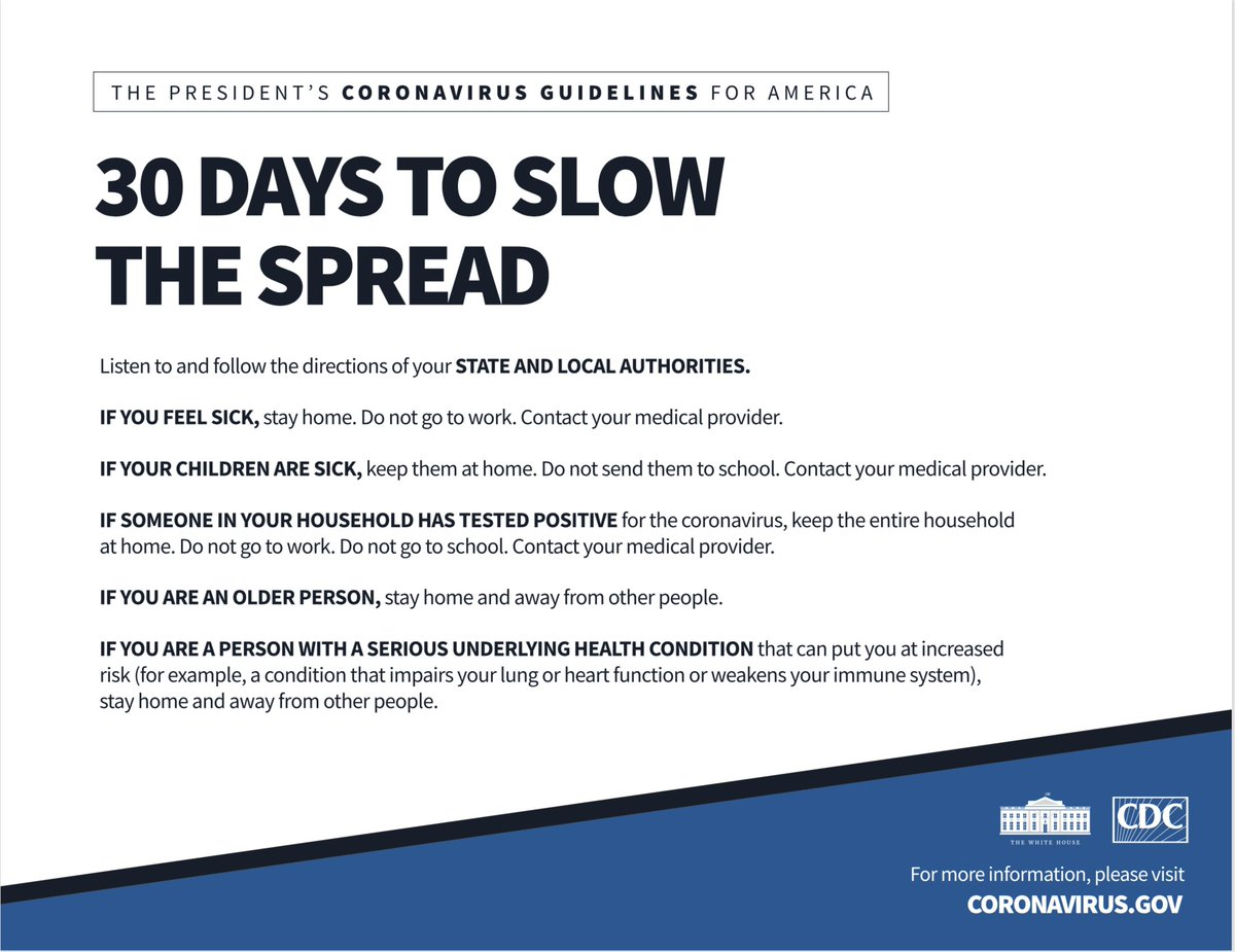 30 Days to Slow the Spread: