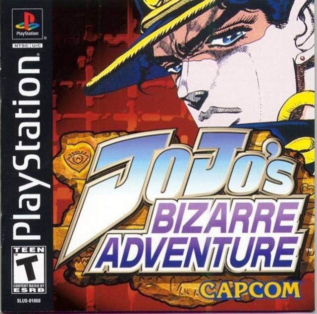 Jojo's Bizarre Adventure for the PS1 was released on this day in North America, 20 years ago (2000)