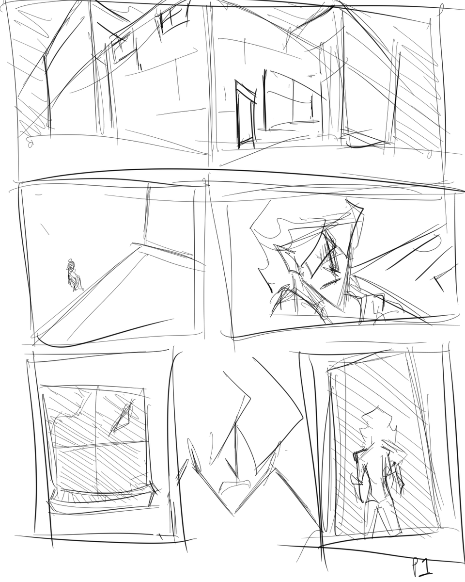 With the lock down going on I have finally taken the chance to start drawing my comic. These are WIP pages with no dialogue added, yet. (1/3) #digitalart #DigitalArtist #digitaldrawing #artistsontwitter #workinprogress #huion #CLIPSTUDIOPAINTpic.twitter.com/Uyp2RdPPId