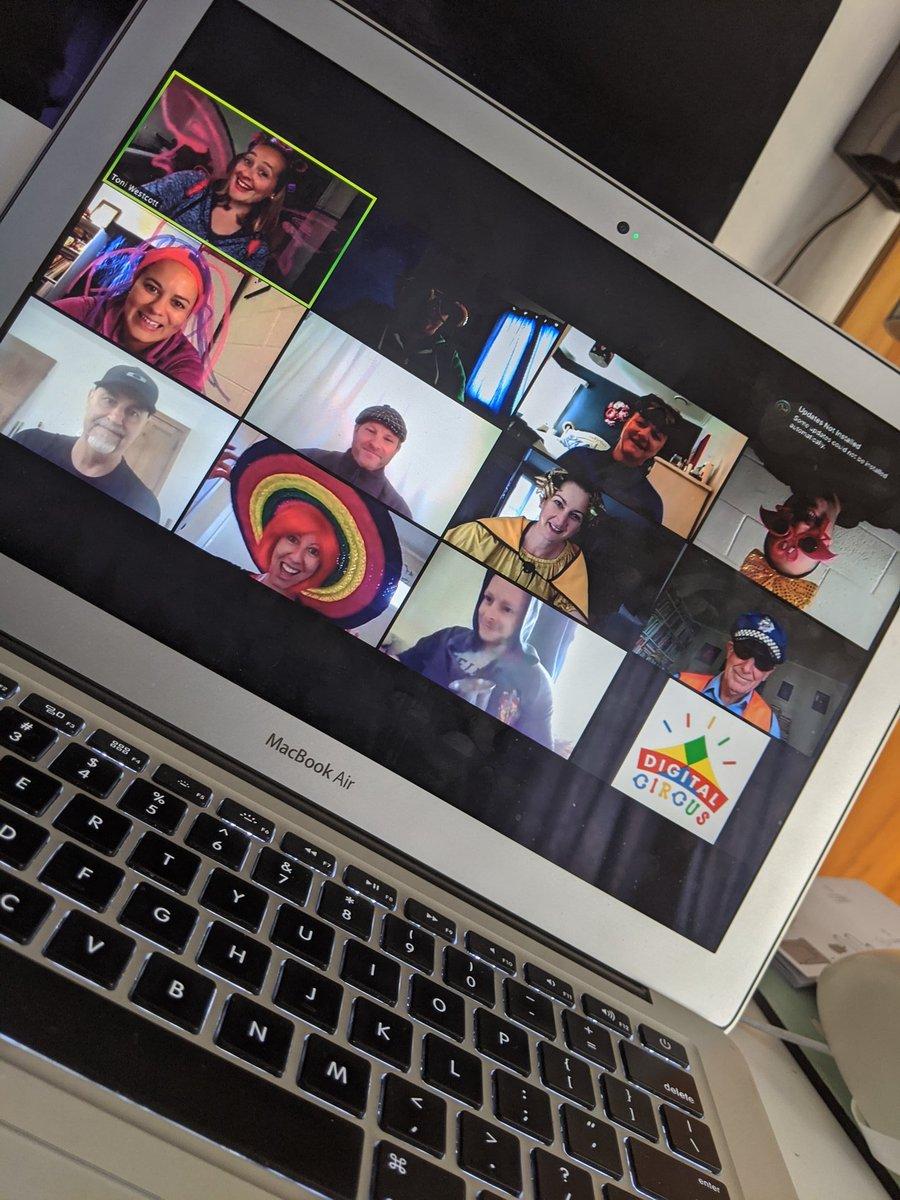 Wacky Wednesday online meetings! #syd19 #remotelearning #GoogleEI #meetup #Covid_19nz