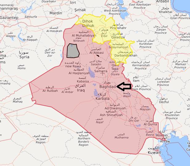 #BREAKING #NOW  Violent explosion shakes the Iraqi capital, #Baghdad. #Iraq #Iran #USA #IRGC #PMU pic.twitter.com/q8GGJisVyG