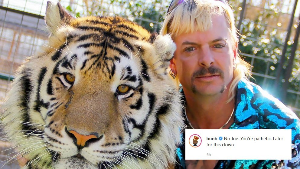 """Bun B Is Done With """"Tiger King"""" Star Joe Exotic After Asking Why He Can't Say The N-Word https://blackculturenews.com/2020/03/bun-b-is-done-with-tiger-king-star-joe-exotic-after-asking-why-he-cant-say-the-n-word…pic.twitter.com/EmlwOYcxBx"""