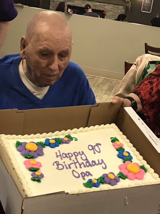 My Dad joined the 90 Years old Club Feb15/20 so Happy Birthday John Astin from me and my Dad