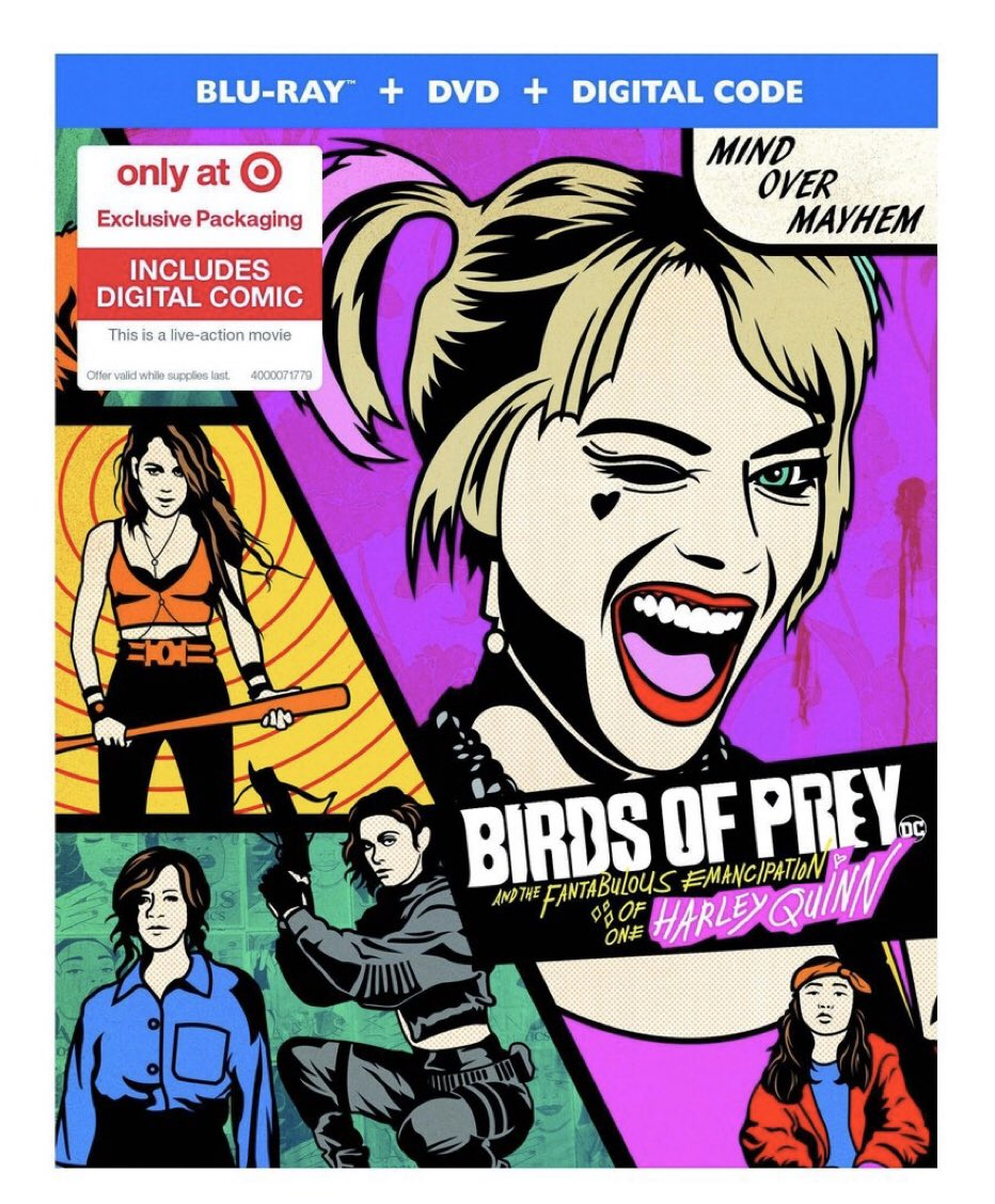 Birds Of Prey Flies Onto 4k Uhd Blu Ray Dvd On May 12 Trailer Special Features Revealed