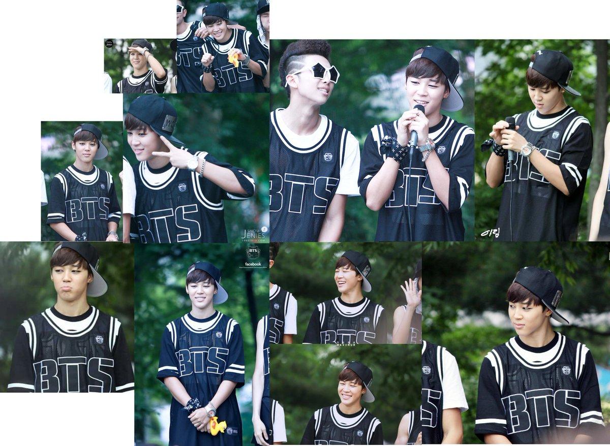 @JAMJAMPICS Yeouido BTS FanMeeting 2013 #JIMIN #DebutWithBTS #JiminRewind https://t.co/VBkwDewwRX