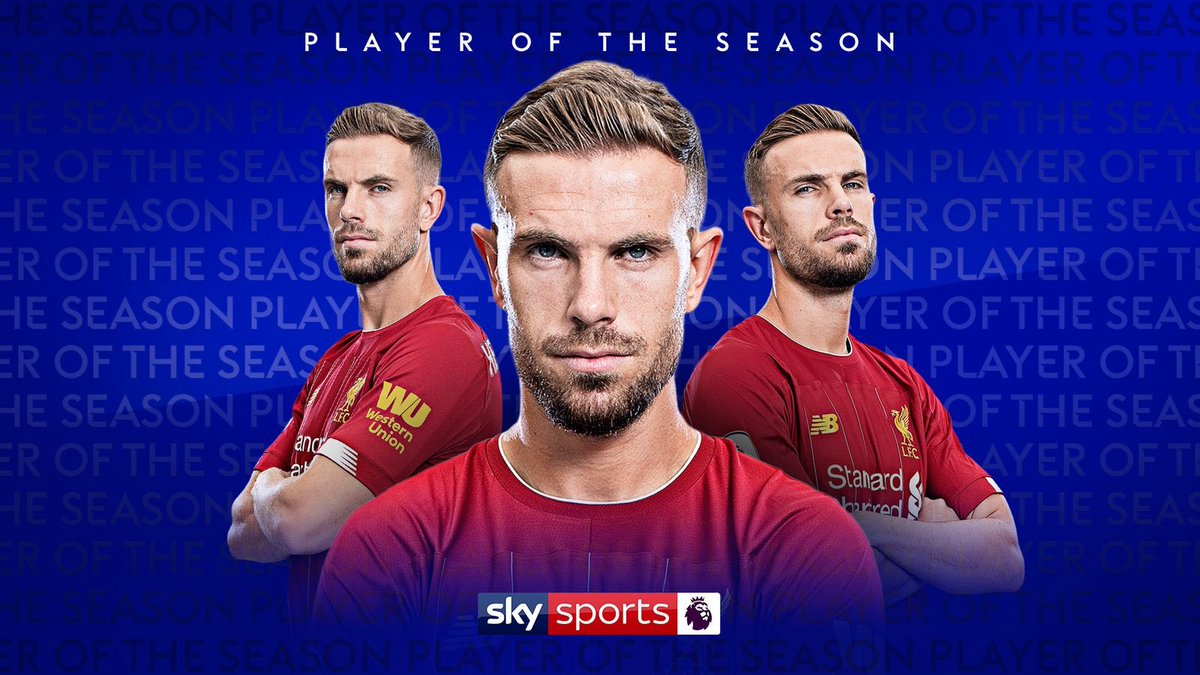 PFA Player of the Year voting was completed before the suspension of football in England.   Jordan Henderson is expected to pick up the award.