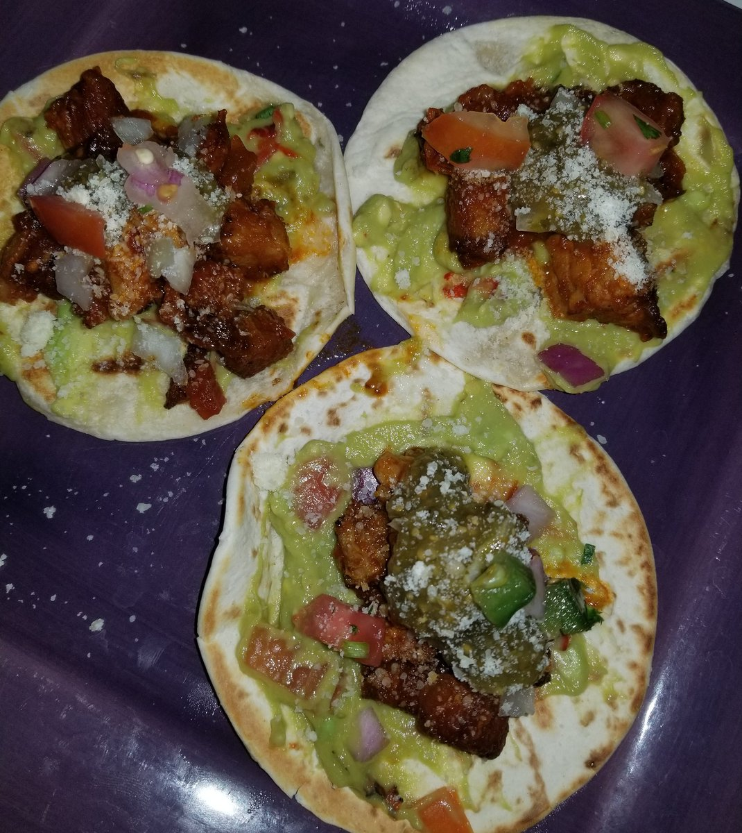 Homemade Pork Belly Tacos.... These were  #Dinner pic.twitter.com/SqE5OpL3kM
