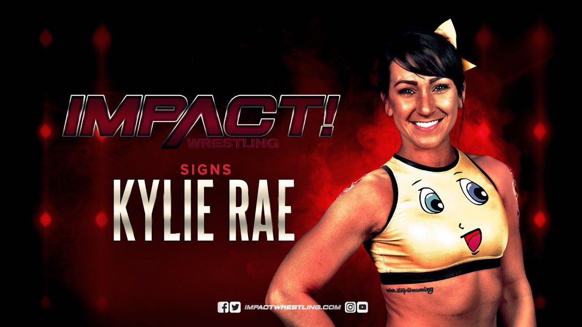 Kylie Rae Signs Long-Term Impact Wrestling Contract