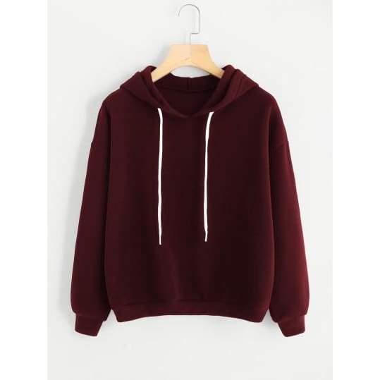 Drop Shoulder Hoodie  $  65.99.   https://pooo.st/O12eV  #jacket #coat pic.twitter.com/Xs6cce7fEn