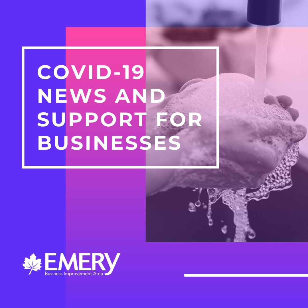 To our #business #members and #community:⁠ We have put together an information page on our website with updated news and links to resources on COVID-19 for business owners and entrepreneurs.⁠ ⁠ Please see here: http://emeryvillagebia.ca/covid-19-news-and-resources/ …pic.twitter.com/U9uYGsSVwb