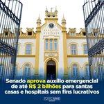 Image for the Tweet beginning: Aprovamos no @SenadoFederal o repasse
