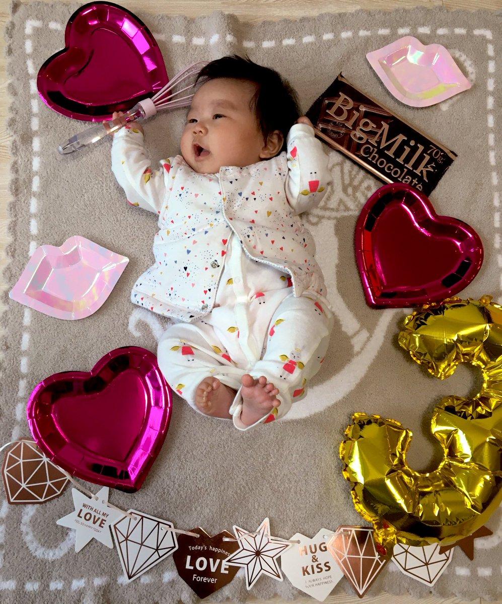 チョコ作りなら任せてください  #バレンタイン #TLを赤ちゃんでいっぱいにするpic.twitter.com/GmPs3LQsQP