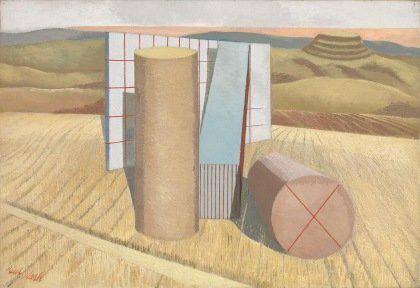 Paul Nash (1889-1946) surrealist painter. #landscape #Modernism pic.twitter.com/1BNRlJQSoY