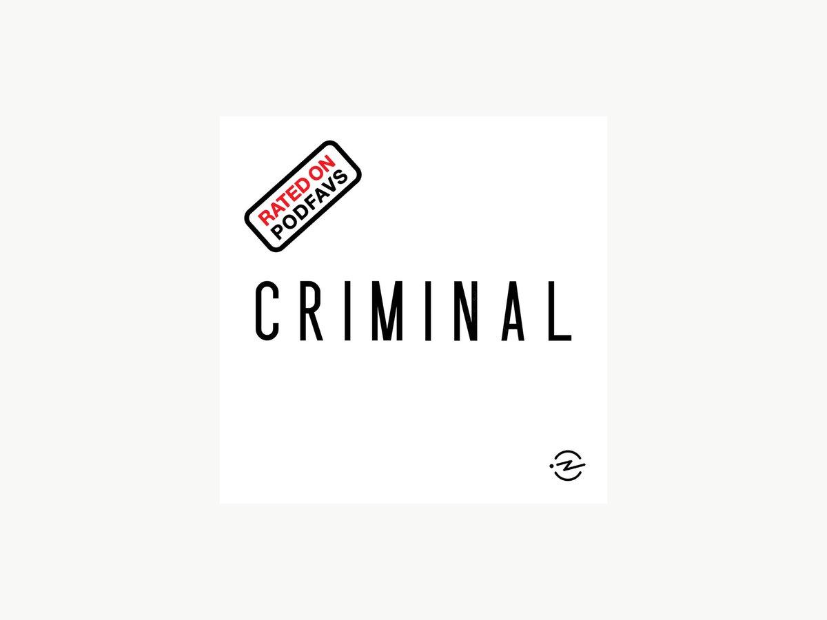 @CriminalShow has been rated on http://podfavs.com #podcast #football #Google  #podcasts #podcastaddict #podfavs #podcastlove #podcasthost #podcastcommunity #podcastjunkie #StayAtHome  #podcastrecommendation #applepodcast #podcastdiscovery #undiscoveredpodcastpic.twitter.com/O5n3adiy9U