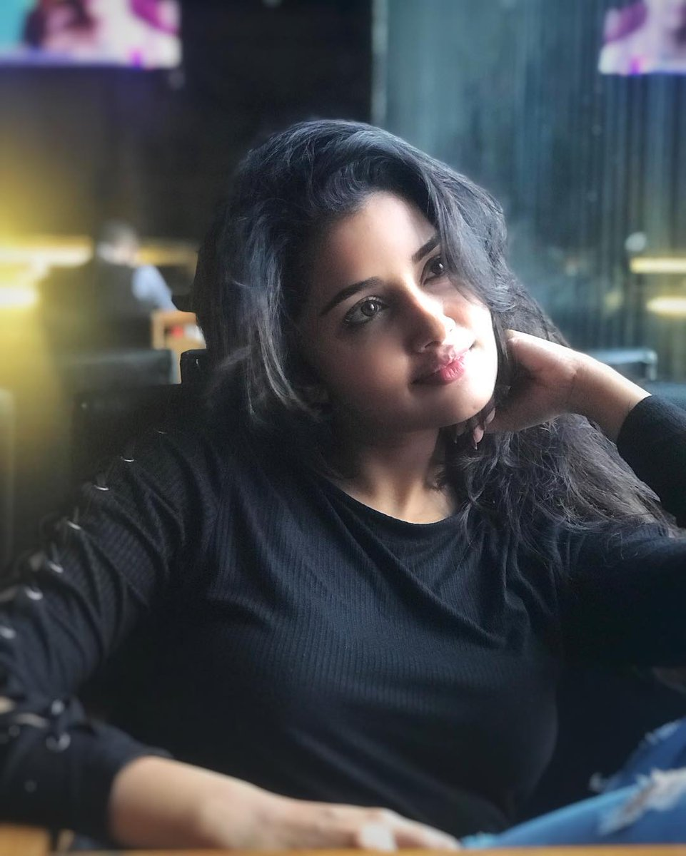 Sky Is Is Blue .. My Love Is True.. 😋💙💙 @anupamahere  #AnupamaParameswaran