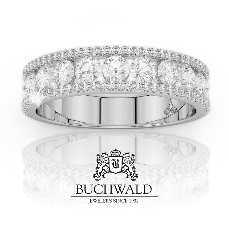 Featuring: Stunning Diamond Anniversary Ring at @BuchwaldJeweler   #Buchwald #BuchwaldJewelers #DiamondRings #AnniversaryRings #DiamondAnniversaryRing #QualityDiamonds #JewelryStore