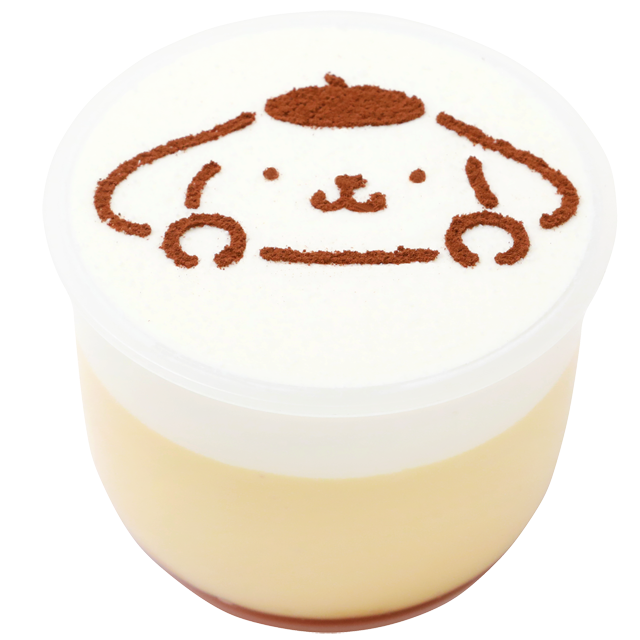 Pompompurin becomes a #pudding ! On sale at all PASTEL  #Japan #sweets  http://pastel-pudding.com/pic.twitter.com/cnszA6yFaP