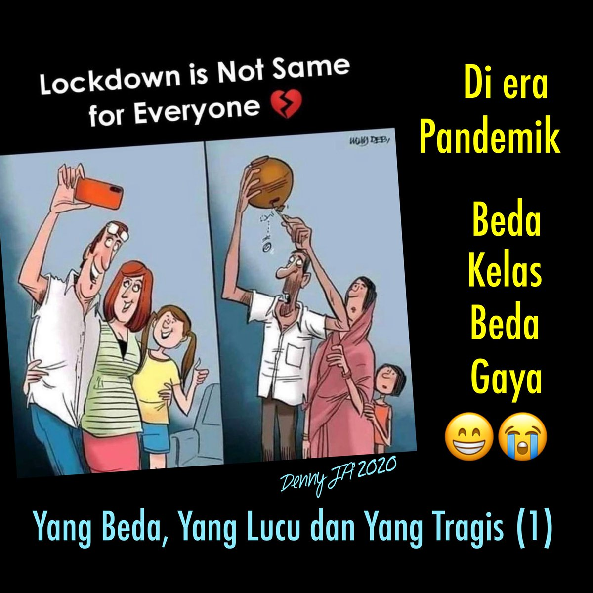 42+ Meme Lucu Lockdown Indonesia | Serbameme