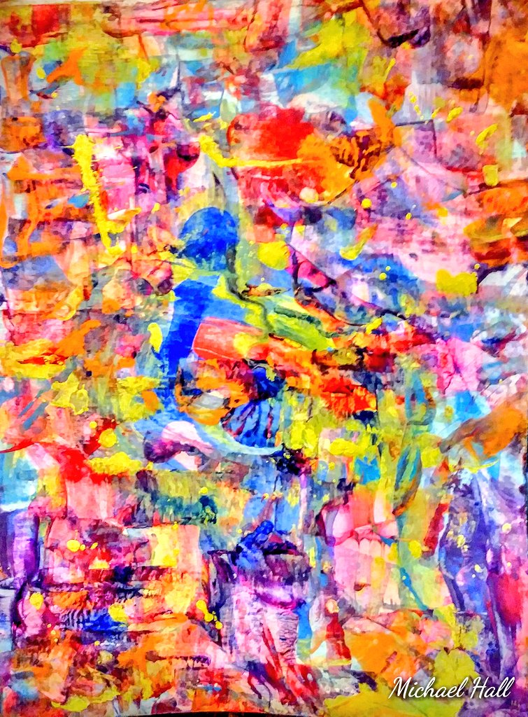 """""""Singing The Blues"""" I Want It That Way #MusicIsLife #GoodVibesOnly #abstract #artwork pic.twitter.com/DMCM5qNnu8"""