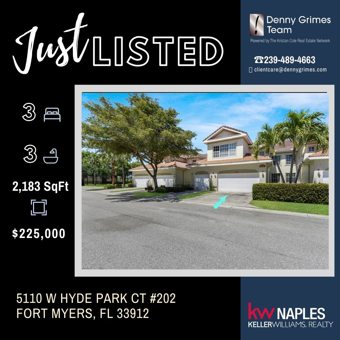 New Listing Fantastic maintenance-free living in SWFL!  https://matrix.swflamls.com/matrix/shared/Clrk7KRbTPc/5110WHydeParkCT …  #JustListed #SWFLHomes #FortMyers #Naples #LeeCounty #CapeCoral #HomesForSale #DennyGrimes #DGT #DGTLocalExperts #SWFLpic.twitter.com/hYRKyhNWER