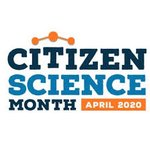 Image for the Tweet beginning: April is Citizen Science month!