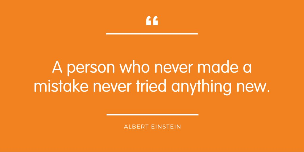 Mistakes are just part of learning - don't be afraid to make them #wisewords #entrepreneurpic.twitter.com/oQLnMP7S1N