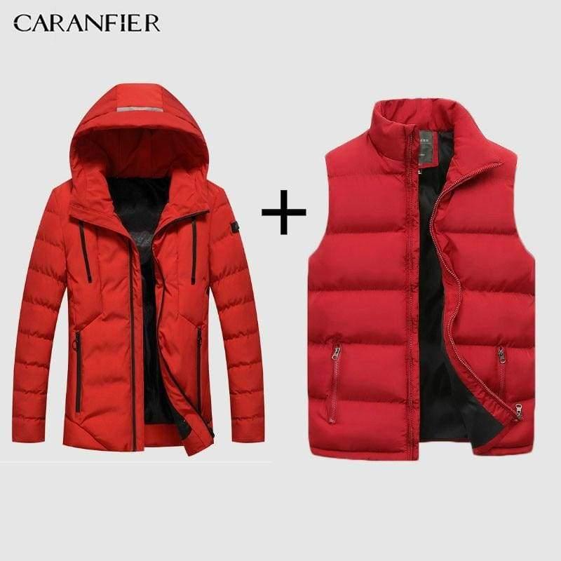 Parka Mens Fashion Men Winter Jacket Coat Hooded Warm Mens Winter Coat Casual Slim Fit  $  59.99.   https://pooo.st/RXAtO  #jacket #coat pic.twitter.com/dbZJUx0GkP