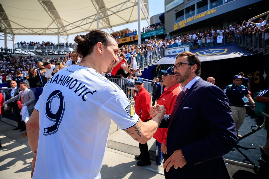@JovanKirovski had a dream. I made it come true.  The person behind my move to @LAGalaxy