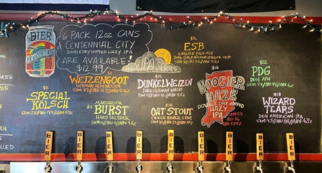 A new tap list for Bier Brewery and Taproom in Indianapolis, IN was just uploaded!  #beer #craftbeer #beerstagram #instabeer #beerlover #beergeek #ipa #beeroclock #taplistpic.twitter.com/OH7BzFh3p0