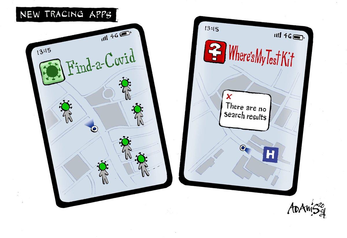 Our @Adamstoon1 @EveningStandard on the new virus tracker apps