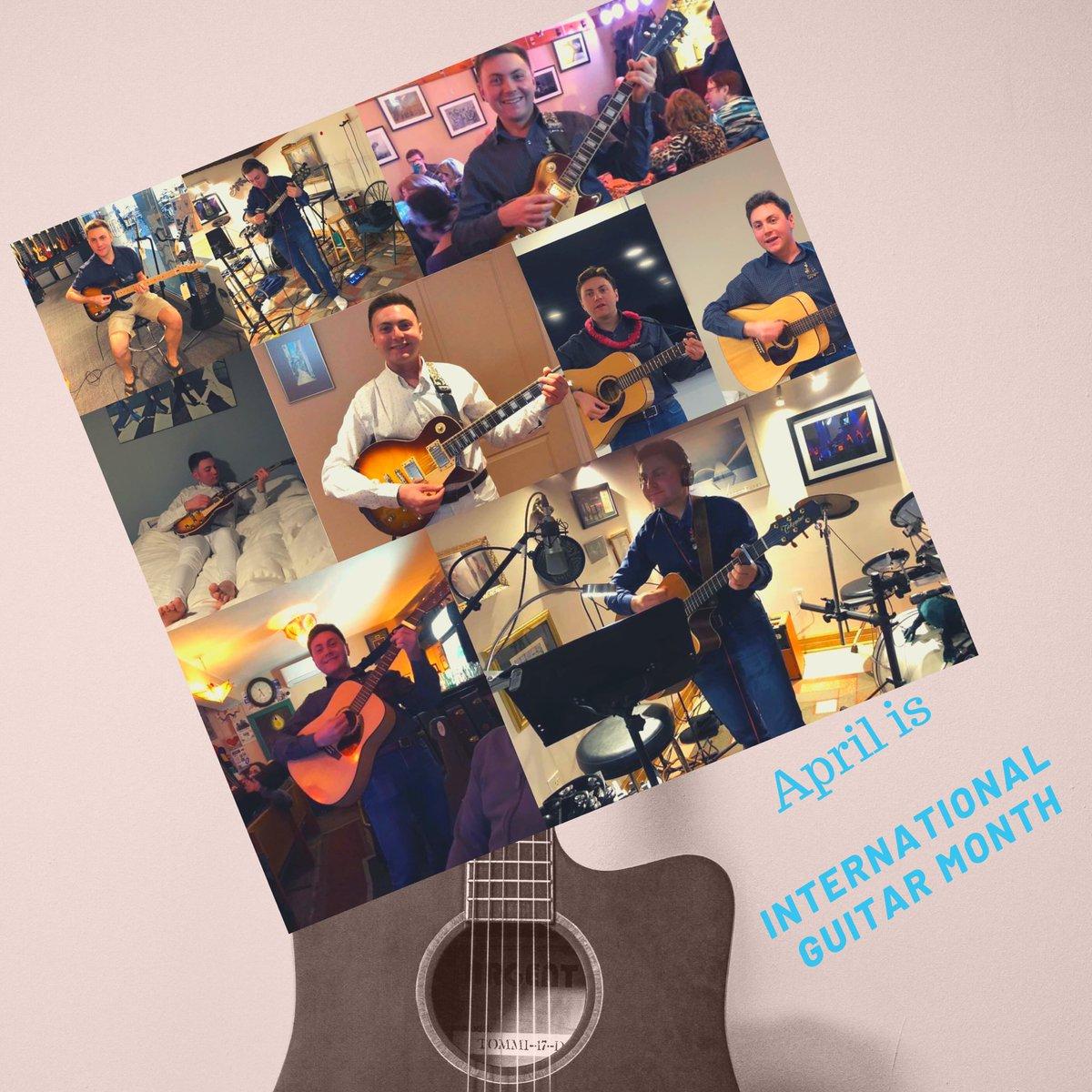 April is International guitar month ! . . . #InternationalGuitarMonth  #RecordingSession  #Guitar #Guitarist #SingerSongwriter #Music #Musician #OpenMic #MusicStore  #Fender #NormanGuitar #MariposaCafé #LesPaul #JonahSchwartzsMusicpic.twitter.com/YUDSAwLDxu