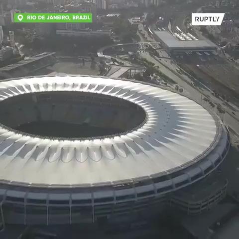 The Maracana stadium in Rio de Janeiro is converted into a field hospital against #COVID19   #RiodeJaneiro #Brazil  #CoronaVirusUpdates #CoronaUpdatepic.twitter.com/QOtxAyowcI