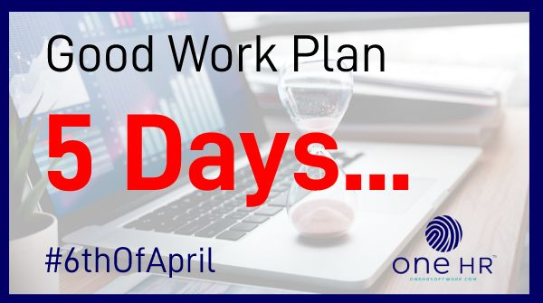 How prepared are you for the #GoodWorkPlan changes?  Your business only has 5 days left to get #compliant before the #6thOfApril.   To get your #contracts in place email us at;   - Contact@oneHRSoftware.compic.twitter.com/5UimixHXwZ