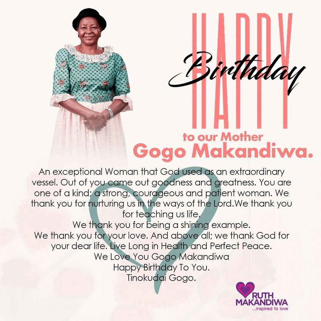#Repost Happy Birthday to Gogo Makandiwa. Long Live our Queen. pic.twitter.com/oOybRzArbw