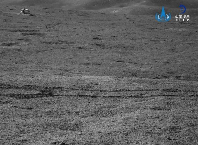Chang'e 4 - Mission sur la face cachée de la Lune (rover Yutu 2) - Page 14 EUgEfh3XgAEQYwb?format=jpg&name=small