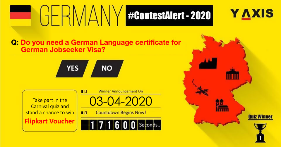 Here's an awesome treat for all you Y-Axis followers. time to sum up all your knowledge 'coz its time for a Lil contest!  Answer this simple quiz and get a chance to win exciting prizes.  Winners will be announced on 3rd April at 1:00 PM.  #ContestAlert #YAxisQuiz #Win #Germany pic.twitter.com/NUuPBVcdNp