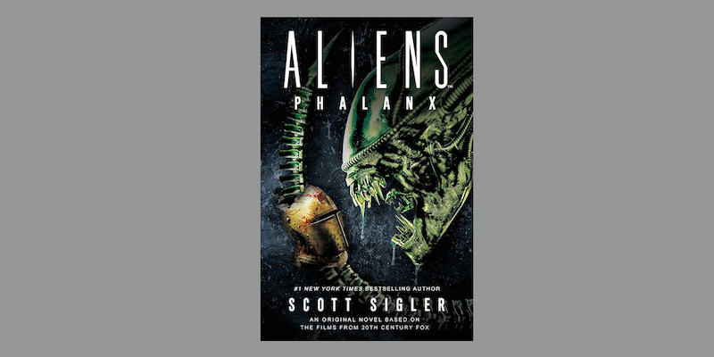 "Started reading Scott Sigler's ""Aliens: Phalanx"" https://www.amazon.com/gp/product/1789094011/ref=as_li_tl?ie=UTF8&camp=1789&creative=9325&creativeASIN=1789094011&linkCode=as2&tag=paulsemelcom-20&linkId=bb4ff540c0bd11fb3bfd673441bced4c …  I may be wrong, but it seems like they're might be more to this #scifi story than just people using spears to fight Ripley's BFFs. #books #reading #scifi #sciencefiction @scottsigler @TitanBooks #Alienspic.twitter.com/4wuIFSsRM8"