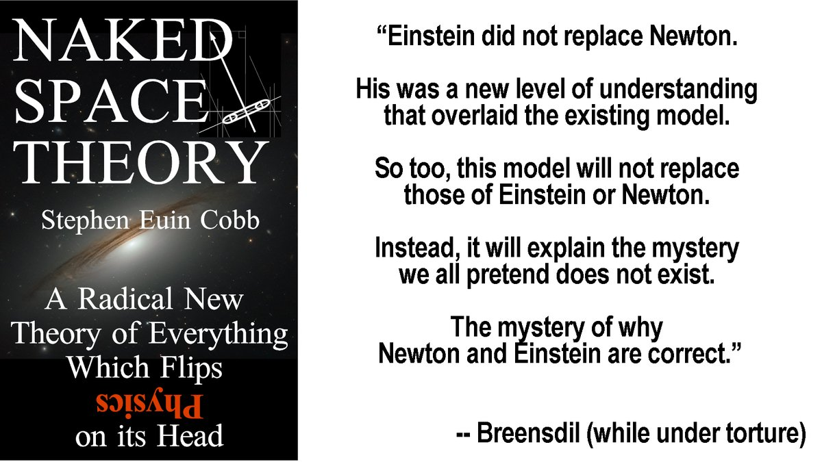 A strange little book. Nonfiction written as though it's #sciencefiction. Naked Space Theory by Stephen Euin Cobb. #Amazon #Science #Cosmology #Astronomy #Sciencefact #Kindle #KindleUnlimited https://www.amazon.com/gp/product/B084LTKPD7&tag=sec03-20 …pic.twitter.com/BRG1fHqmky