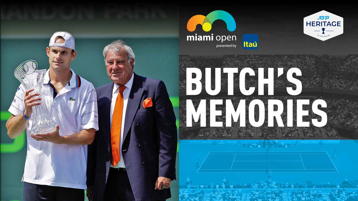 I caught up with Butch Buchholz, founder of the @MiamiOpen, to talk Agassi, Sampras and memories.  Read Feature:  #Miami