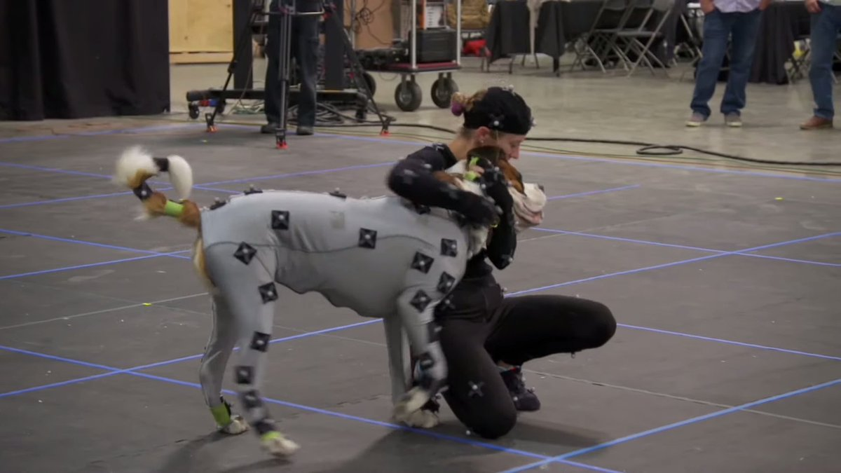 I mean, c'mon, how cool is dog mocap? Like, so cool. https://beforesandafters.com/2020/04/01/i-mean-cmon-how-cool-is-dog-mocap/… #thecallofthewild pic.twitter.com/pYPGBQPv6U