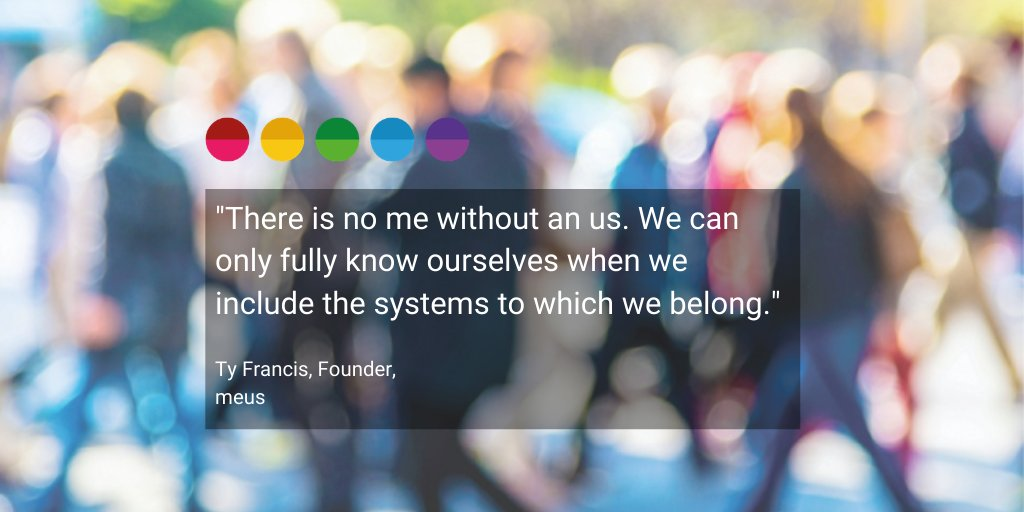 Wednesday Wisdom   Today we welcome a new month and with it we share some words of wisdom from our Founder, Ty Francis.  What are your goals for April?  #meus #WednesdayWisdom #wisewords #systemictransformation #systemiccoaching #systemsthinking #systemics #newmonth #Aprilpic.twitter.com/rK2VYtovXI