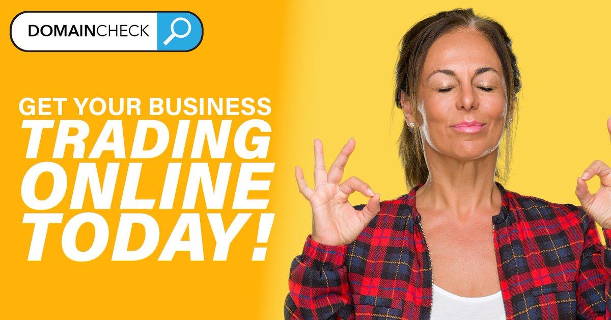 Get you business trading online today from only £145+vat   Check out our full set of web bundles: https://www.domaincheck.co.uk/bundles/  #website #ecommercewebsitepic.twitter.com/MeJNjTU12x